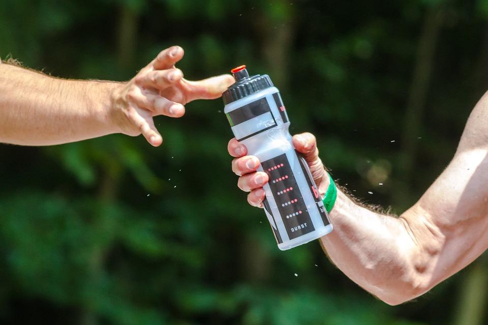 vida sana y consumo de agua