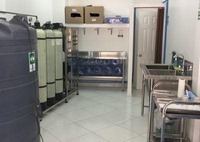 máquina de agua purificada