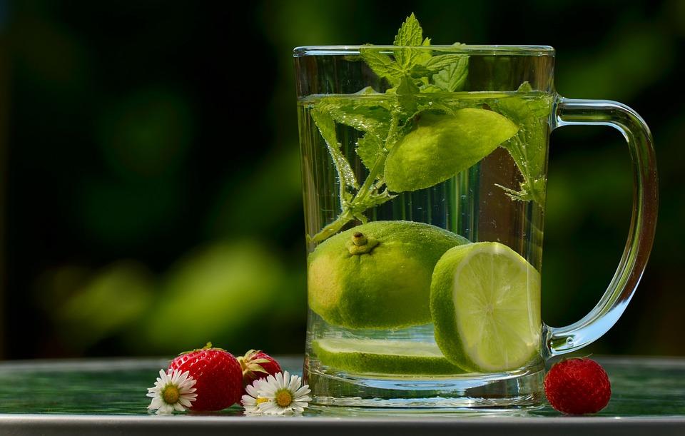 infusiones con agua purificada